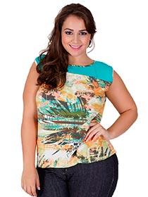 Blusa Sandra Plus Size