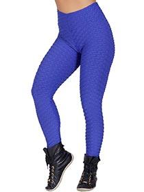 Calça Luna Lisa Azul Escuro